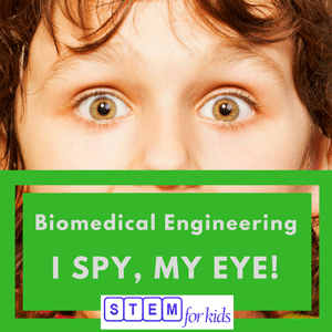 Biomedical Sensory systems for kids -ISpyMyEye