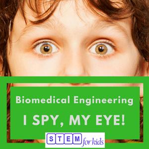 Biomedical Sensory systems for kids -ISpyMyEye